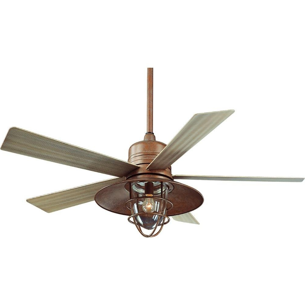 Popular Outdoor Ceiling Fans And Lights Pertaining To Rustic Outdoor Ceiling Fans Rustic Outdoor Ceiling Fans Lodge (Gallery 8 of 20)