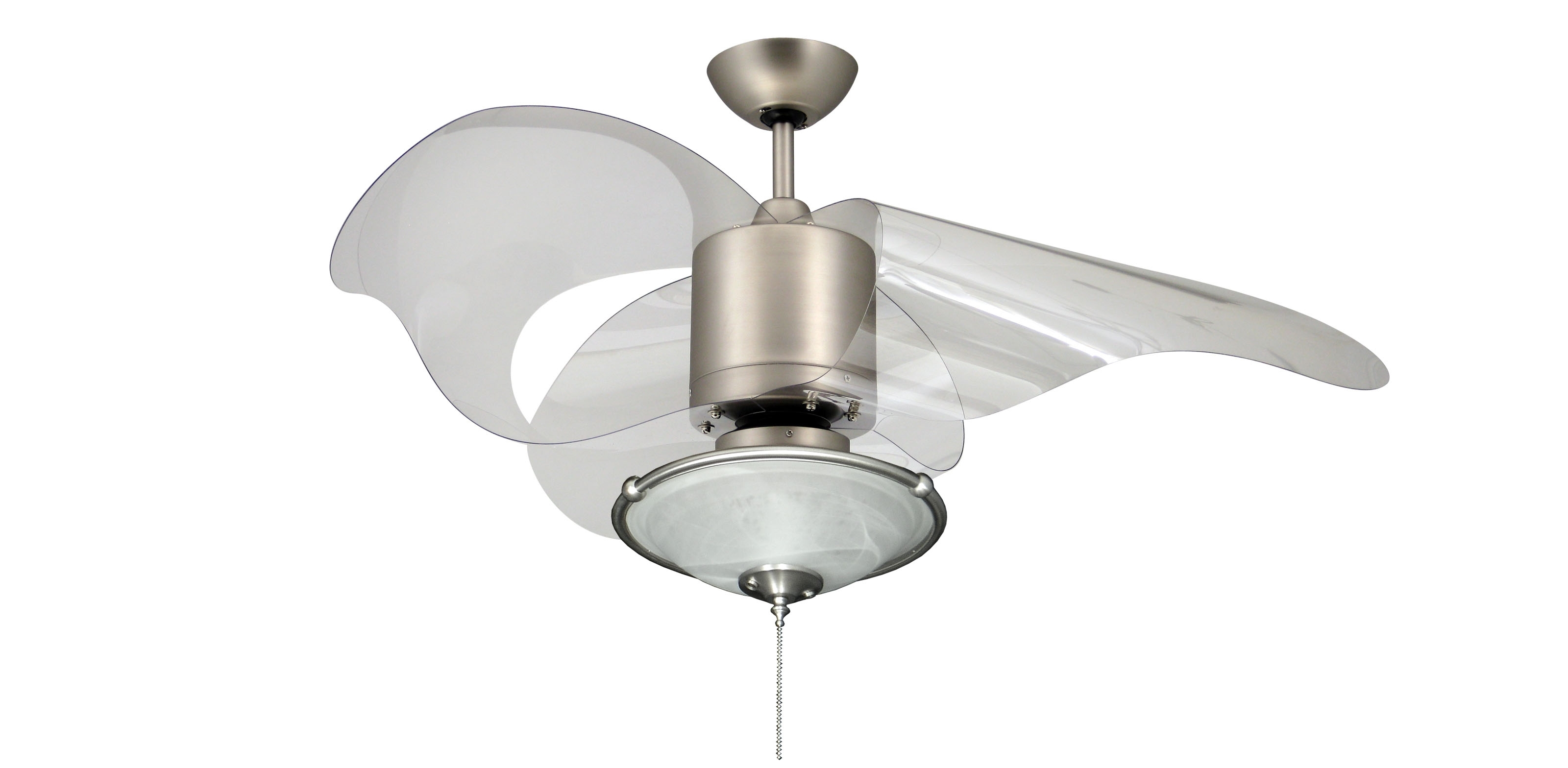 Popular Stainless Steel Outdoor Ceiling Fans With Light In Contemporary Ceiling Fans With Light (View 16 of 20)