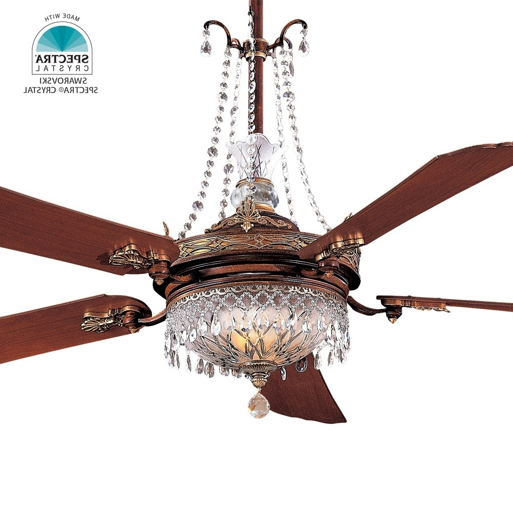 """Popular Victorian Outdoor Ceiling Fans With Minka Aire Cristafano Ceiling Fan F900 Bcw 68"""" Fan Including Gc (View 3 of 20)"""