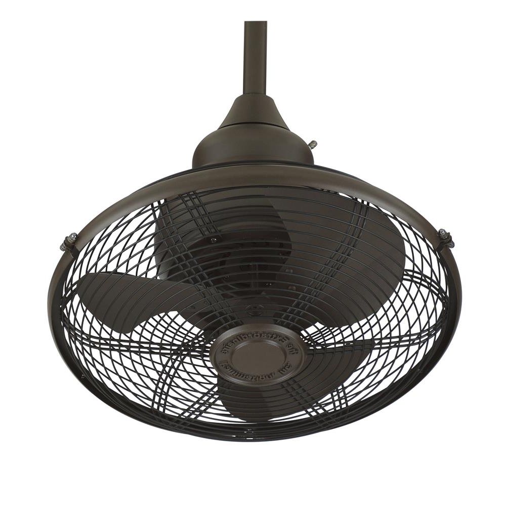 Portable Outdoor Ceiling Fans Regarding Well Known Of110Ob – Fanimation Of110Ob Extraordinaire: Oil Rubbed Bronze (Gallery 20 of 20)