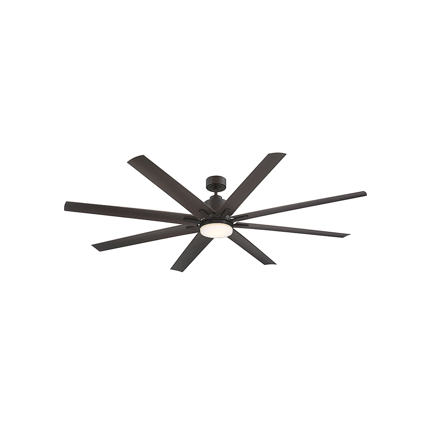 Preferred Savoy House Bluff English Bronze Led 72 Inch Outdoor Ceiling Fan 72 Within 72 Inch Outdoor Ceiling Fans (Gallery 9 of 20)