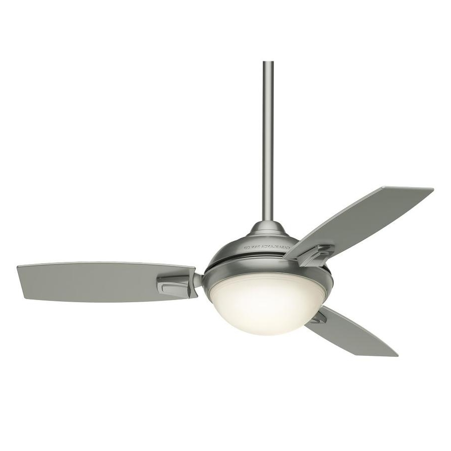 Preferred Shop Casablanca Verse Led 44 In Satin Nickel Led Indoor/outdoor For Casablanca Outdoor Ceiling Fans With Lights (View 12 of 20)