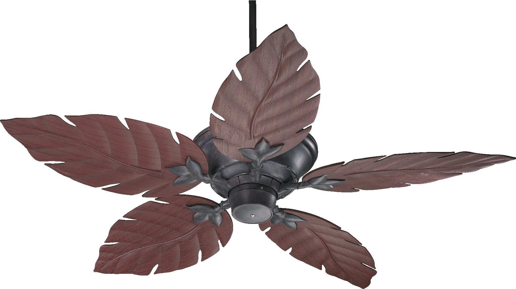 "Quorum Lighting 135525 Monaco 52"" Patio Tropical Ceiling Fan Qr 135525 Intended For 2018 Quorum Outdoor Ceiling Fans (View 19 of 20)"