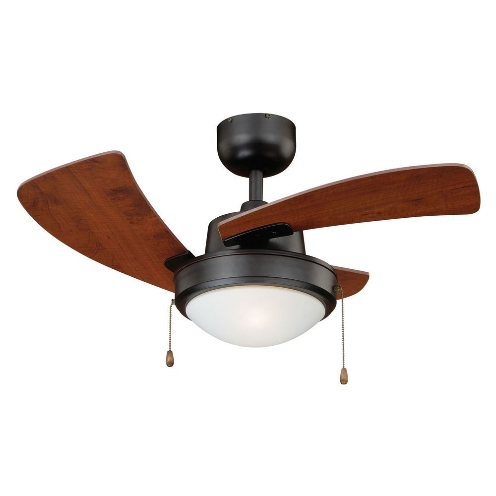 Recent 36 Inch Outdoor Ceiling Fans With Lights With Regard To 36 Inch Bronze Contemporary Ceiling Fan W/light Kit & Pull Chain (View 12 of 20)