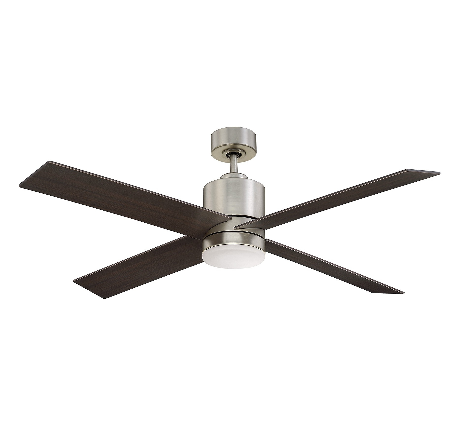 Recent 52 6110 4cn Sn Dayton 52 Inch 4 Blade Ceiling Fansavoy House Pertaining To Outdoor Ceiling Fans With Metal Blades (View 11 of 20)
