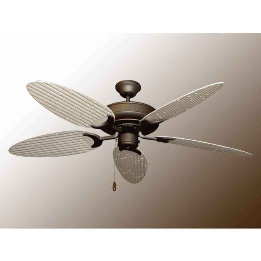 Recent Bamboo Outdoor Ceiling Fans Within Bamboo Raindance, Outdoor Ceiling Fan (Gallery 5 of 20)
