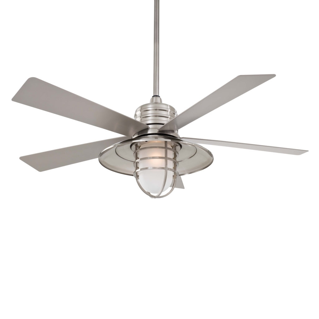Recent Home Decor: Appealing Coastal Ceiling Fans Combine With Fan Design Throughout Outdoor Ceiling Fans For Canopy (View 15 of 20)
