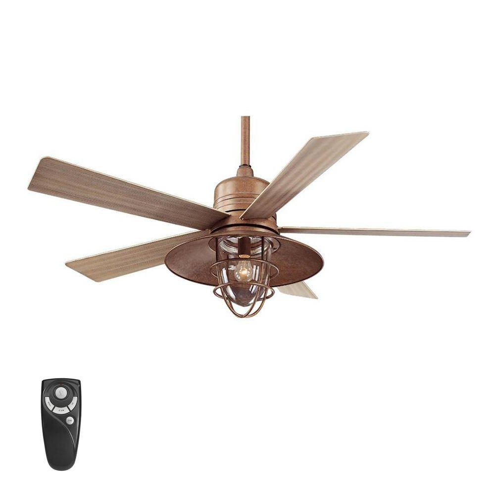 Recent Outdoor Ceiling Fans At Amazon Within Outdoor Ceiling Fan With Light And Remote Fresh Nautical Ceiling Fan (View 11 of 20)