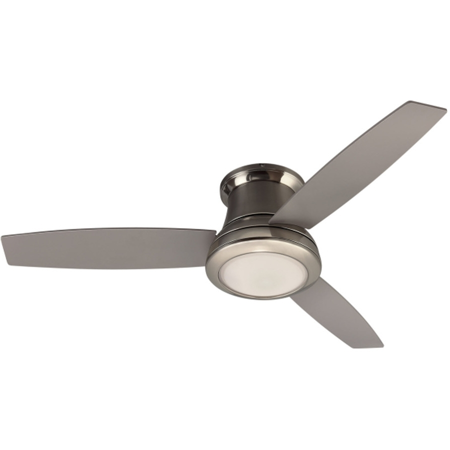 Recent Outdoor Ceiling Fans Flush Mount With Light In Ceiling Fan: Mesmerizing Flush Mount Ceiling Fans Ideas 32 Flush (View 18 of 20)