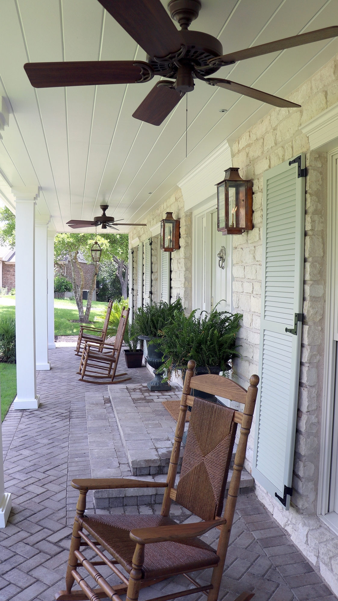 Recent Outdoor Ceiling Fans For Porch Inside Front Porch 4 Hunter Original Outdoor Ceiling Fan – Hunter Fan Blog (Gallery 20 of 20)