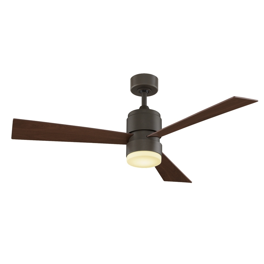 Recent Shop Fanimation Zonix Led 54 In Oil Rubbed Bronze Led Indoor/outdoor Pertaining To Oil Rubbed Bronze Outdoor Ceiling Fans (View 16 of 20)