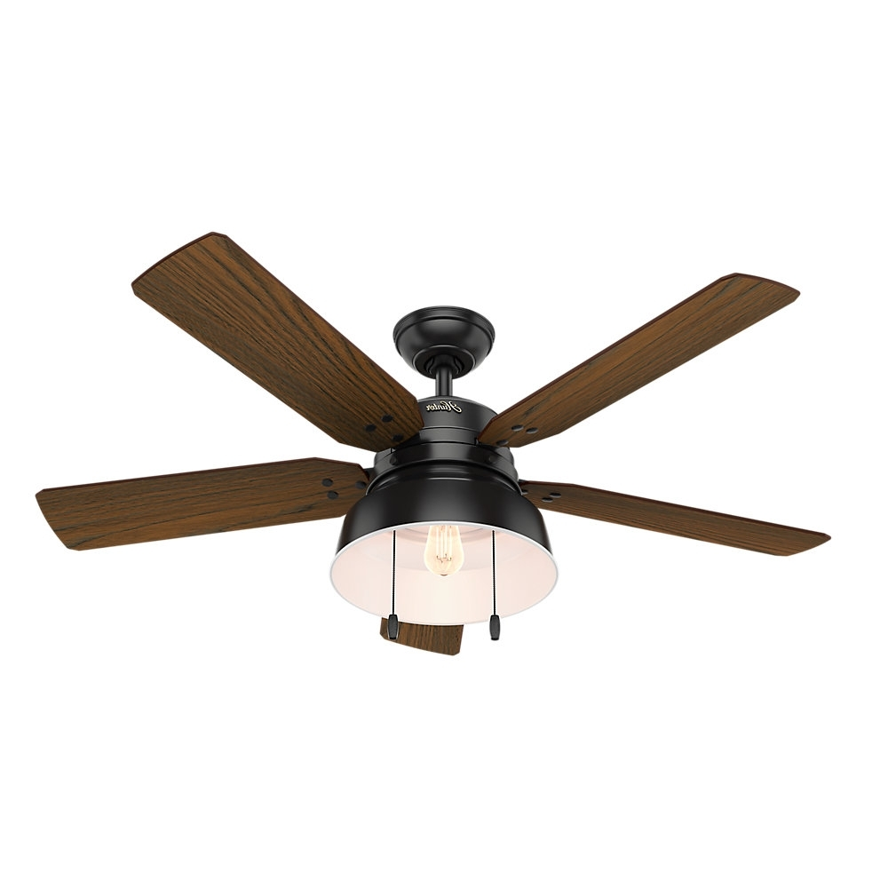 Recent Wayfair Outdoor Ceiling Fans With Lights Intended For Hunter Fan (View 16 of 20)