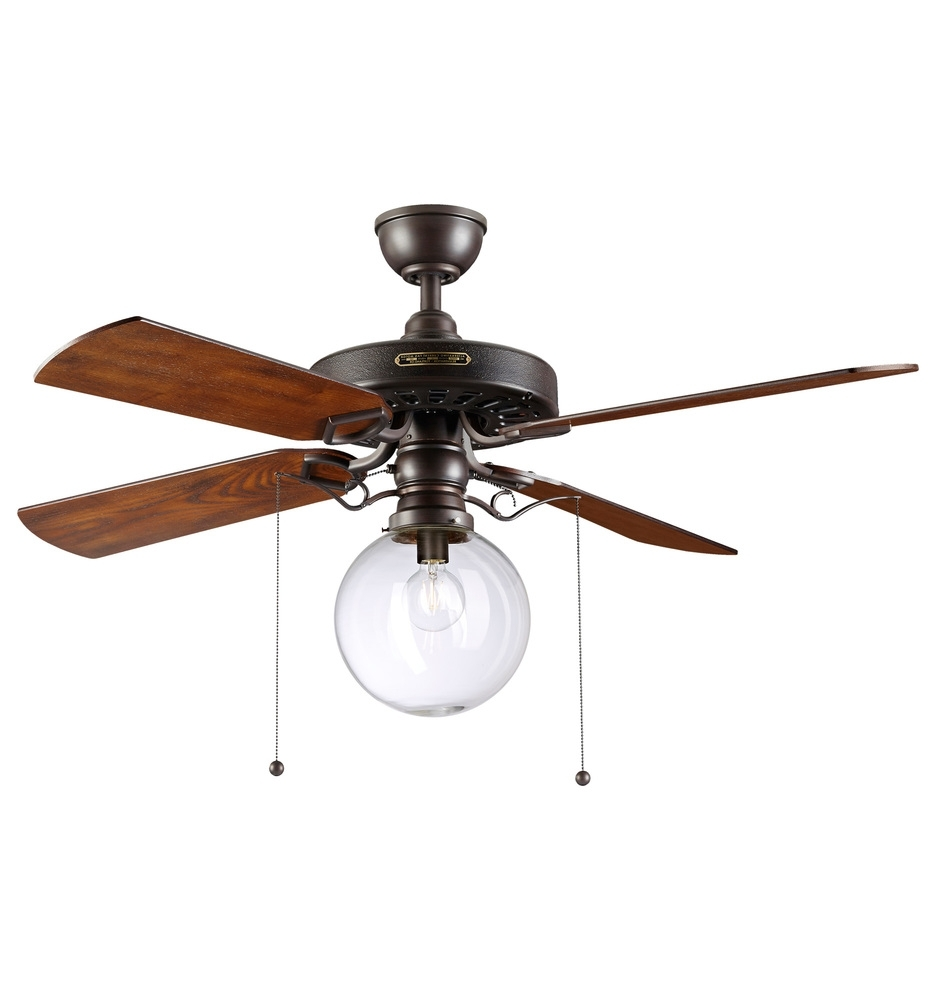 Rejuvenation For Outdoor Ceiling Fans With Led Globe (View 12 of 20)