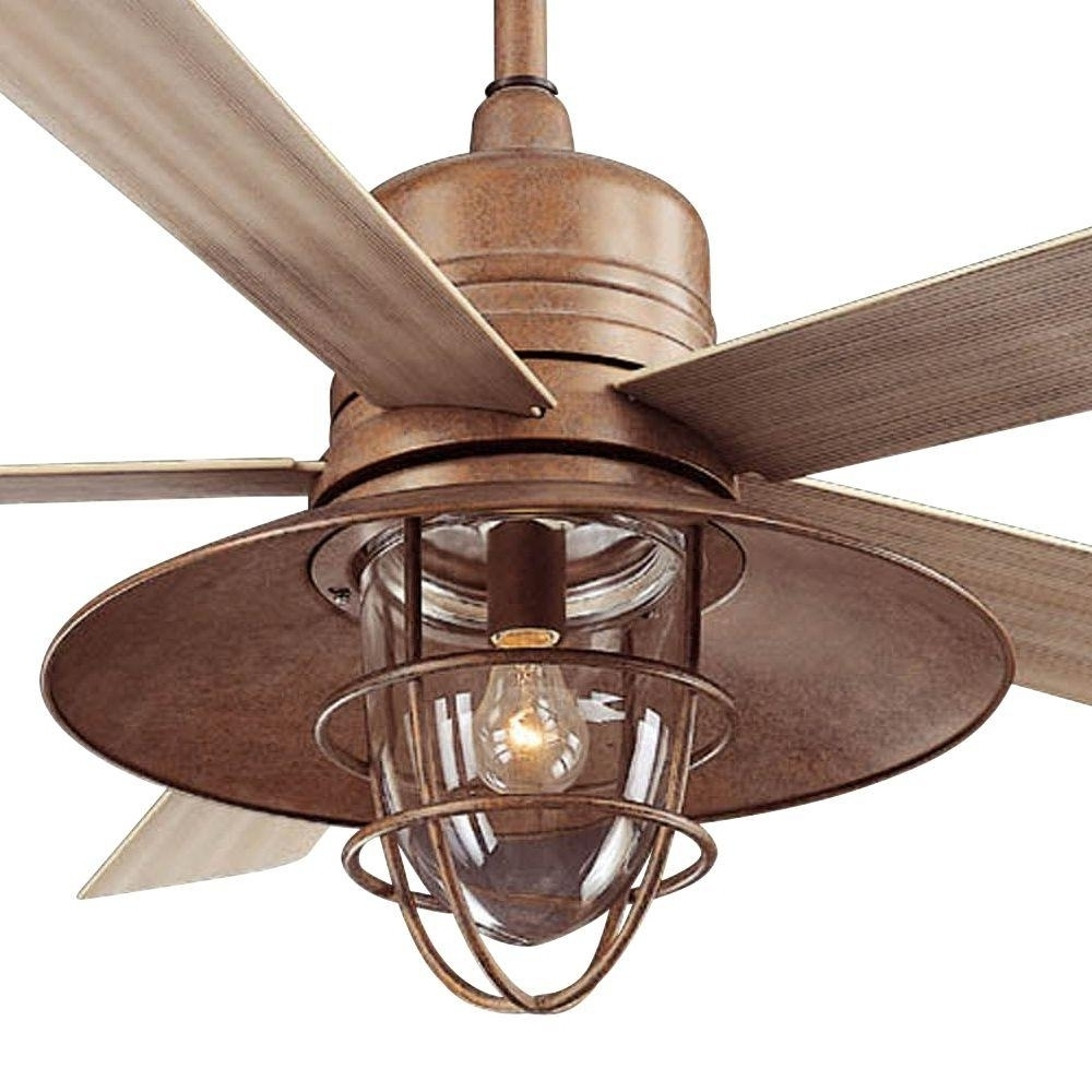 Rustic Outdoor Ceiling Fans With Lights In Most Recently Released Rustic Outdoor Ceiling Fanslarge Size Of Ceiling Fans, Rustic (Gallery 9 of 20)