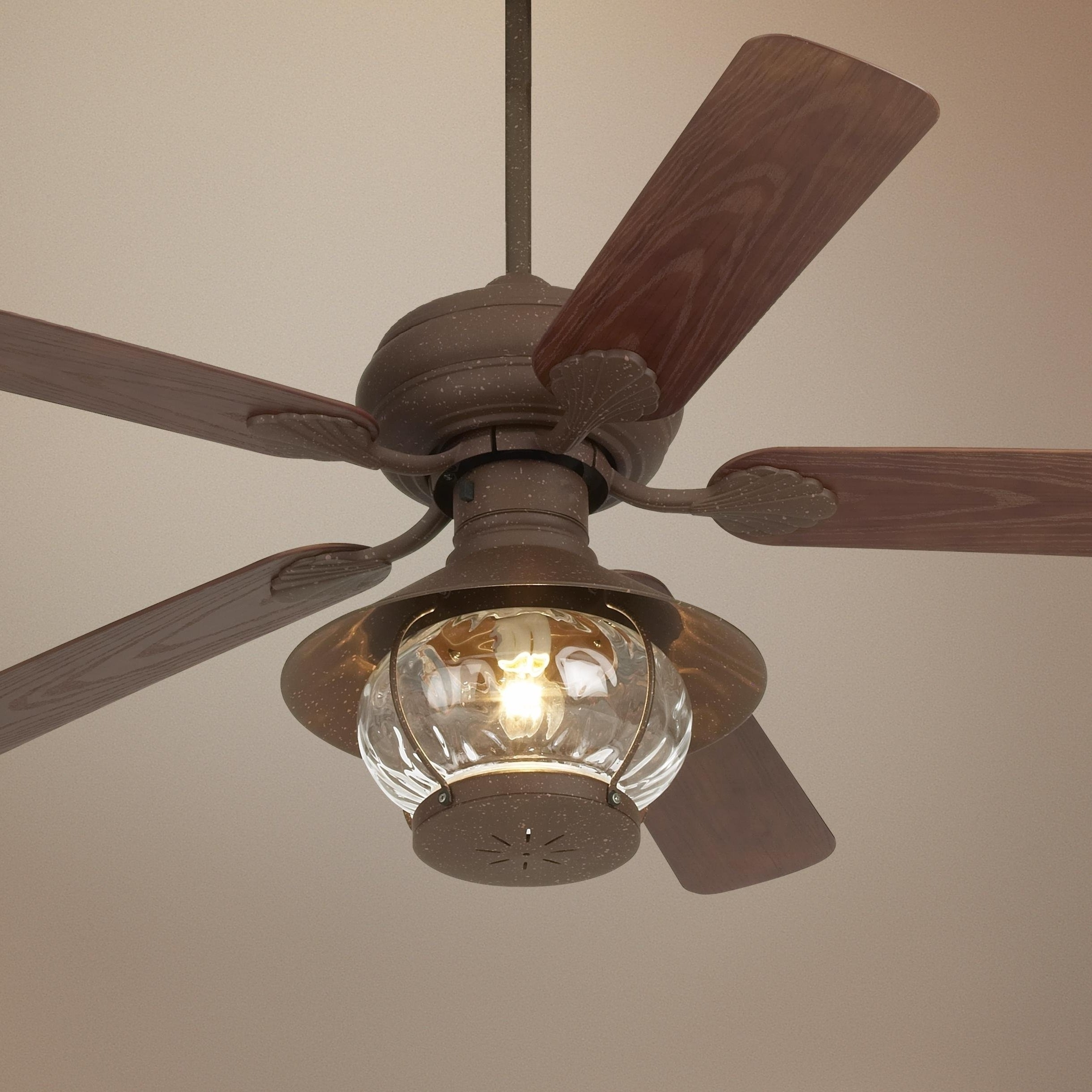 Rustic Outdoor Ceiling Fans With Lights Pertaining To Well Liked Radiant Ceiling Rustic Outdoor Ceiling Fans Western Light Pertaining (Gallery 18 of 20)