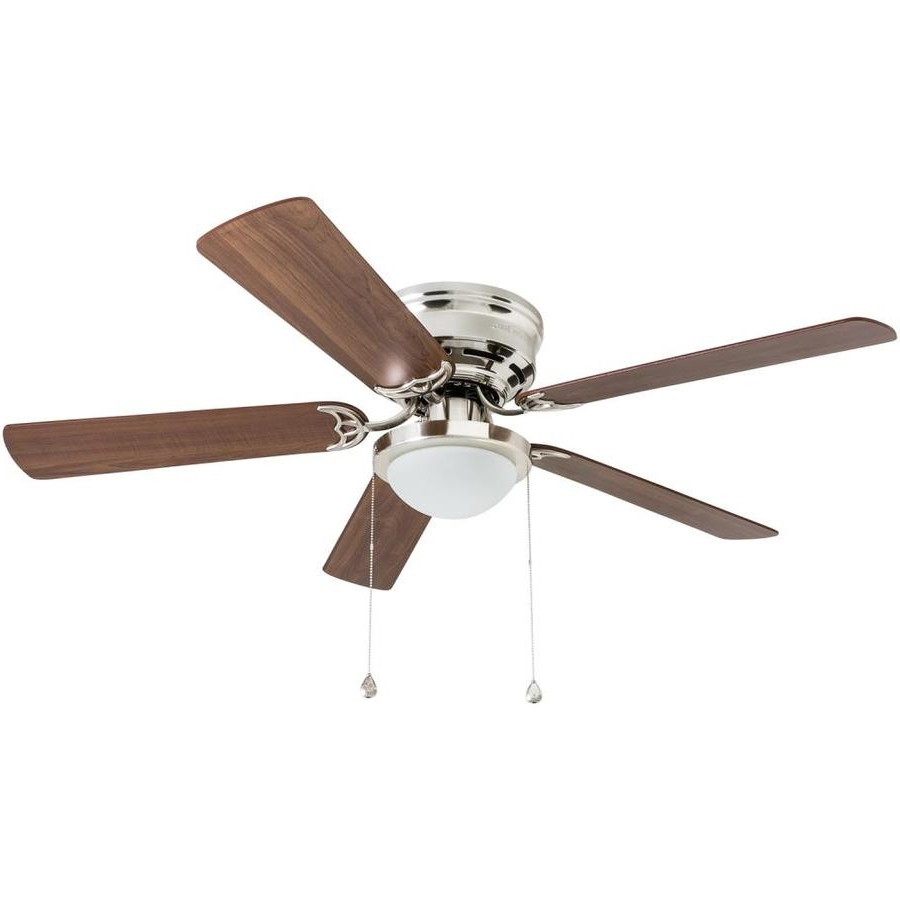 Shop Ceiling Fans At Lowes With Regard To Latest 36 Inch Outdoor Ceiling Fans With Light Flush Mount (View 18 of 20)