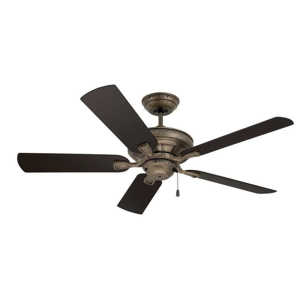 Shop Emerson Veranda 52 Inch Vintage Steel Traditional Indoor Regarding 2018 Traditional Outdoor Ceiling Fans (View 10 of 20)