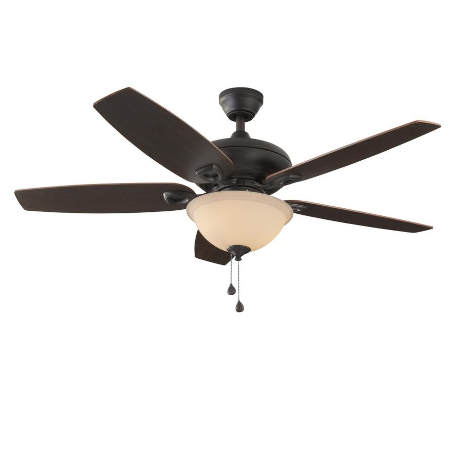 Shop Harbor Breeze Coastal Creek 52 In Bronze Indoor Ceiling Fan Within Favorite Coastal Outdoor Ceiling Fans (View 17 of 20)