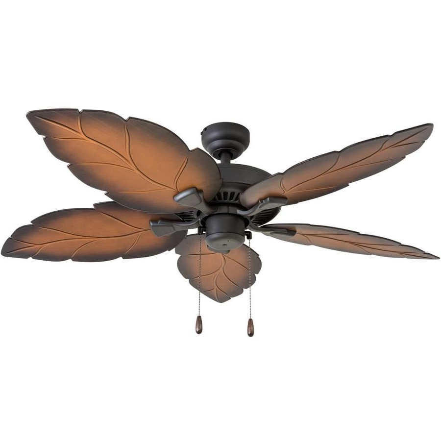 Shop Palm Coast Harbour Island 52 In Tropical Bronze Indoor/outdoor Inside Fashionable Tropical Outdoor Ceiling Fans (View 13 of 20)