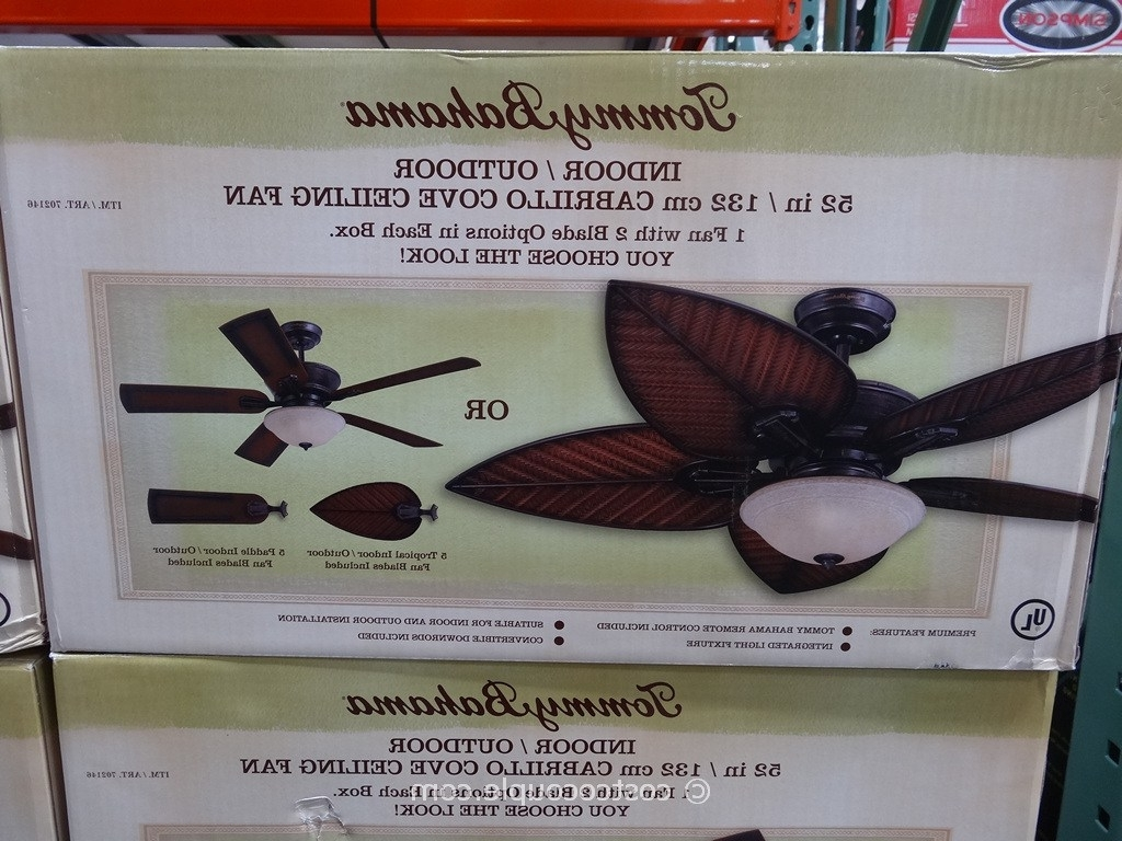 Tommy Bahama Outdoor Ceiling Fan Costco Most Viewed Tommy Bahama Regarding Most Current Outdoor Ceiling Fans At Costco (View 18 of 20)