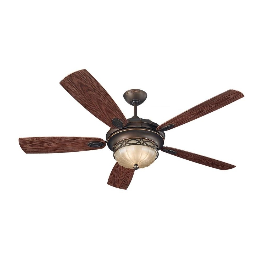 Traditional Outdoor Ceiling Fans Intended For Well Liked Monte Carlo Drawing Room 56 In (View 3 of 20)