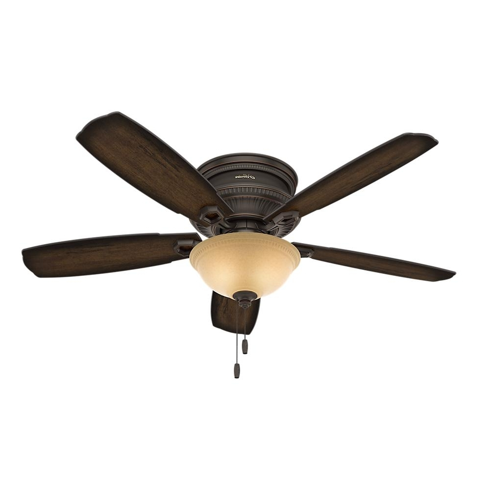 Traditional Outdoor Ceiling Fans Throughout Current Hunter Ambrose 52 In (View 18 of 20)