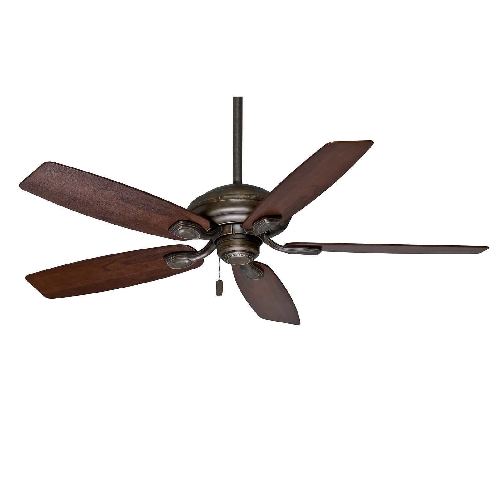 """Trendy Casablanca 52"""" Aged Bronze Damp Rated Outdoor Ceiling Fan For With Damp Rated Outdoor Ceiling Fans (View 18 of 20)"""