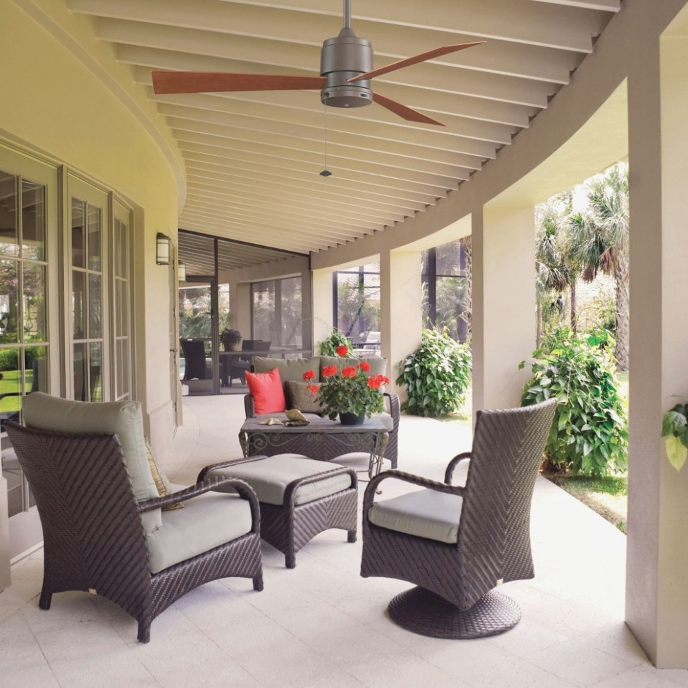 Trendy Outdoor Patio Ceiling Fans With Lights Pertaining To Lighting Your Lovely Outdoor Porch Ceiling Fans With . (View 8 of 20)
