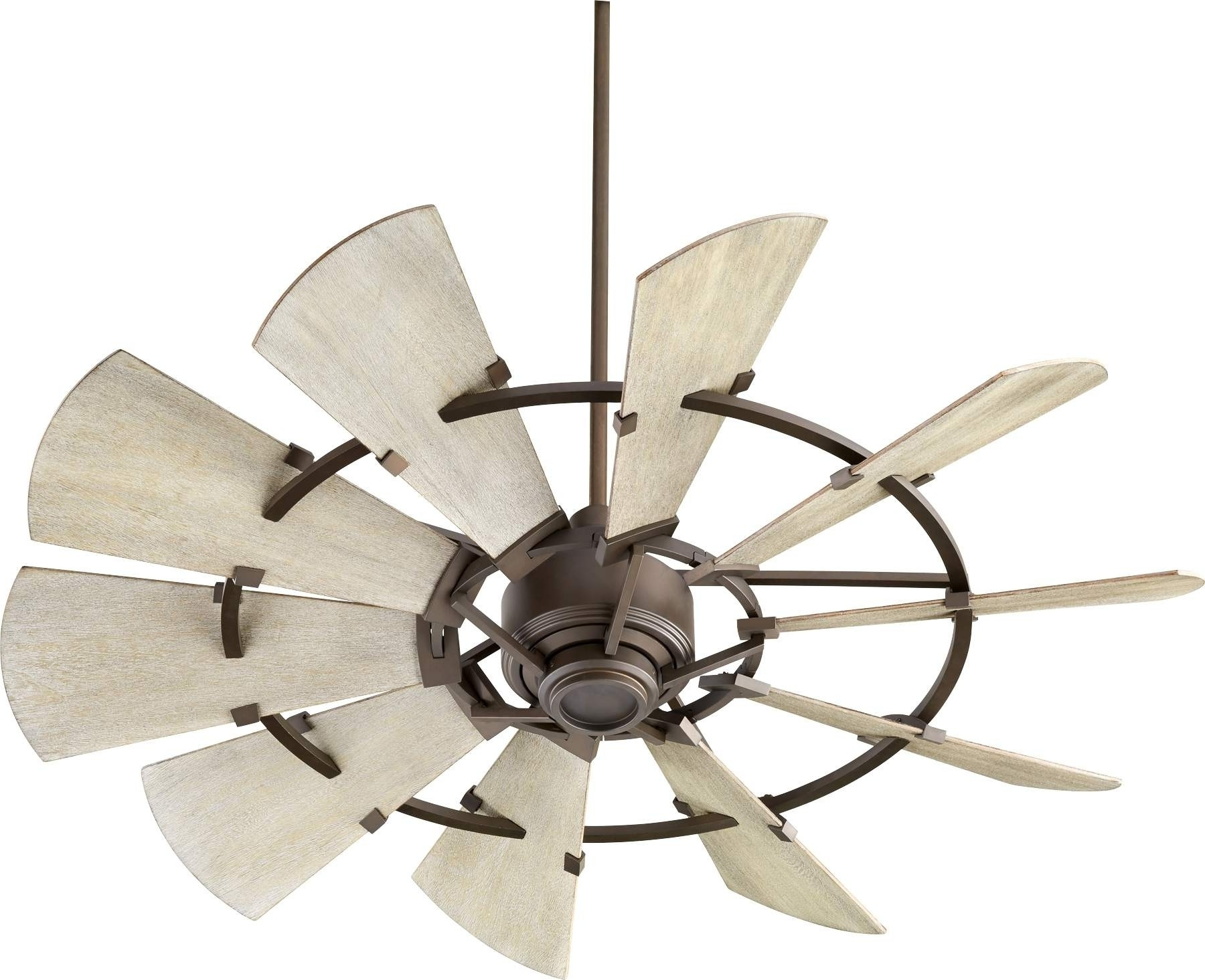 Trendy Quorum Windmill Ceiling Fan Model 195210 86 In Oiled Bronze Throughout Quorum Outdoor Ceiling Fans (View 6 of 20)