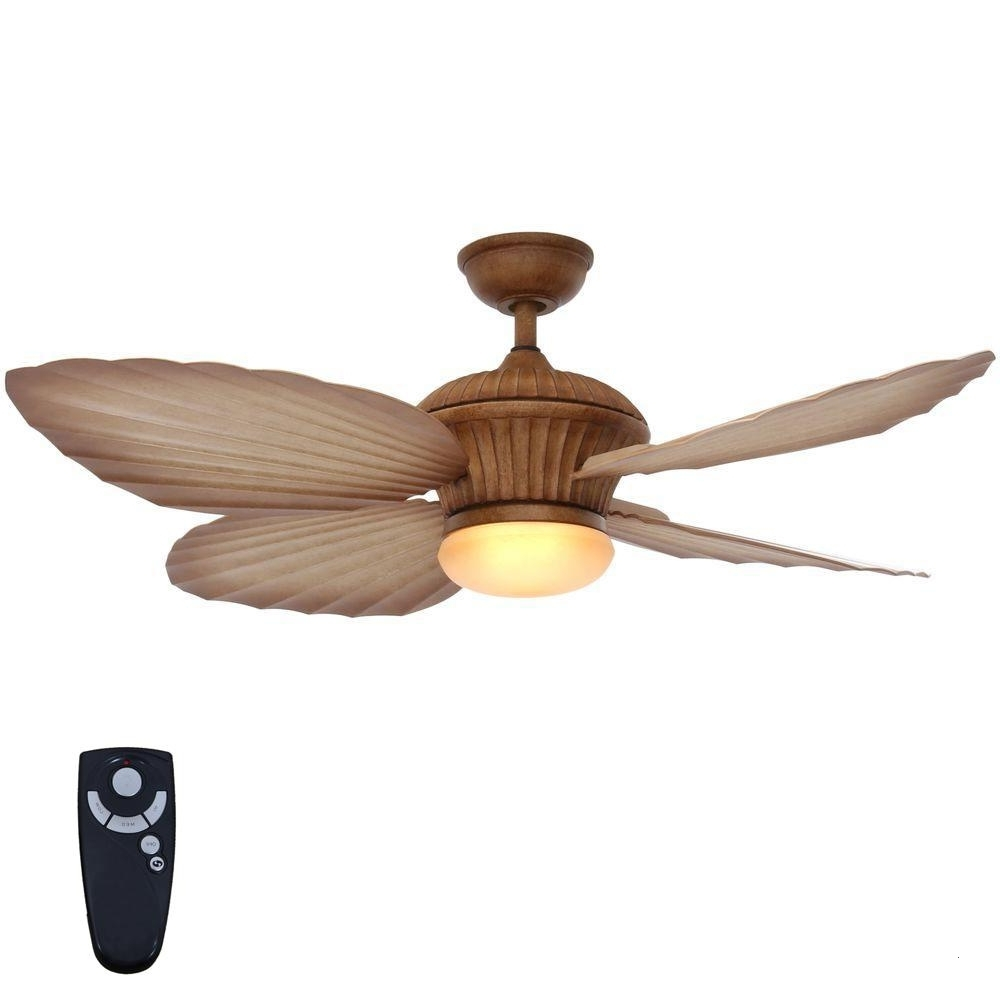 Tropical Outdoor Ceiling Fans With Lights Lovable Home Decorators For Best And Newest Tropical Outdoor Ceiling Fans With Lights (View 19 of 20)