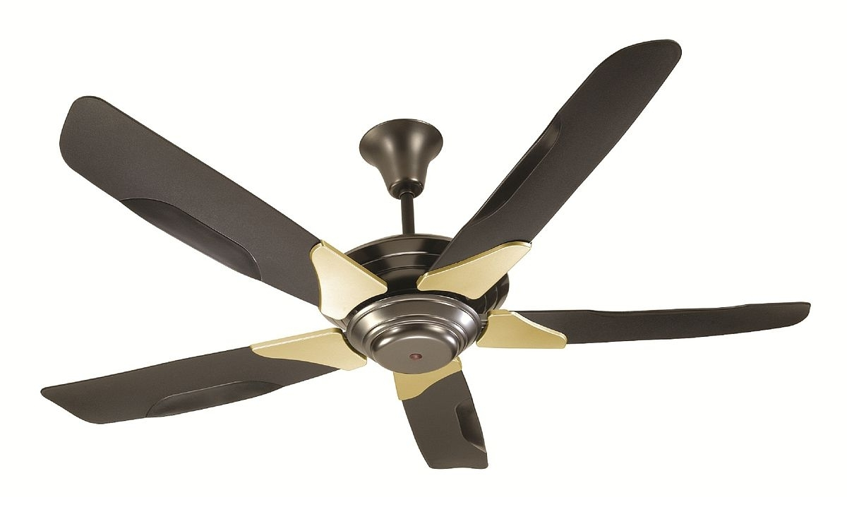 Vertical Outdoor Ceiling Fans Within Newest Ceiling Fan – Wikipedia (View 10 of 20)