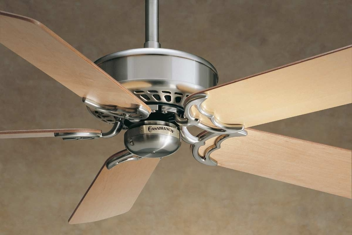 Victorian Outdoor Ceiling Fans Throughout Well Known Ceiling Fan Light Kit Casablanca Victorian 6344Z In Antique Brass (View 17 of 20)
