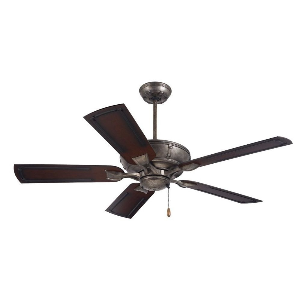 Vintage Outdoor Ceiling Fans Within Most Up To Date 54 Inch Vintage Steel Indoor/outdoor Ceiling Fan (Gallery 16 of 20)