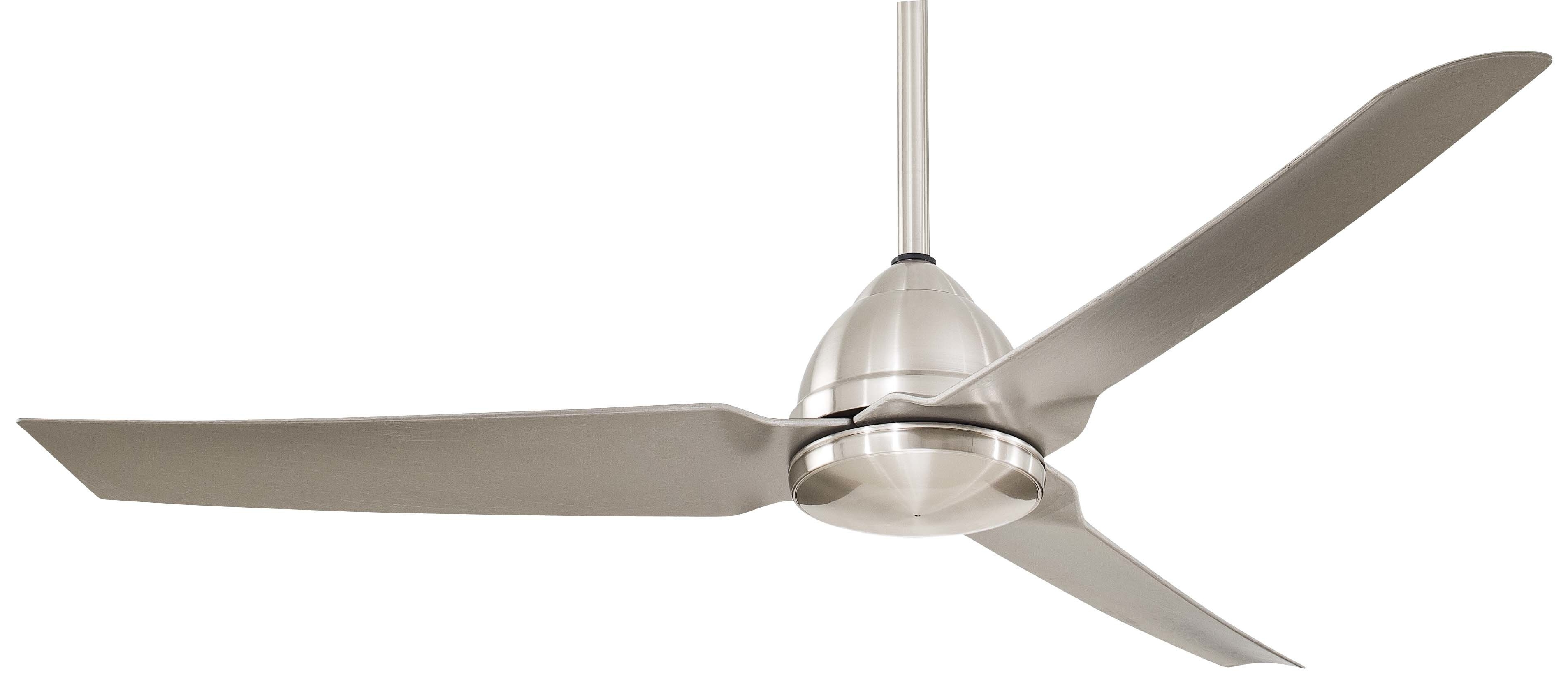 Wayfair Outdoor Ceiling Fans Within Most Recent Outdoor Ceiling Fans You'll Love (View 17 of 20)