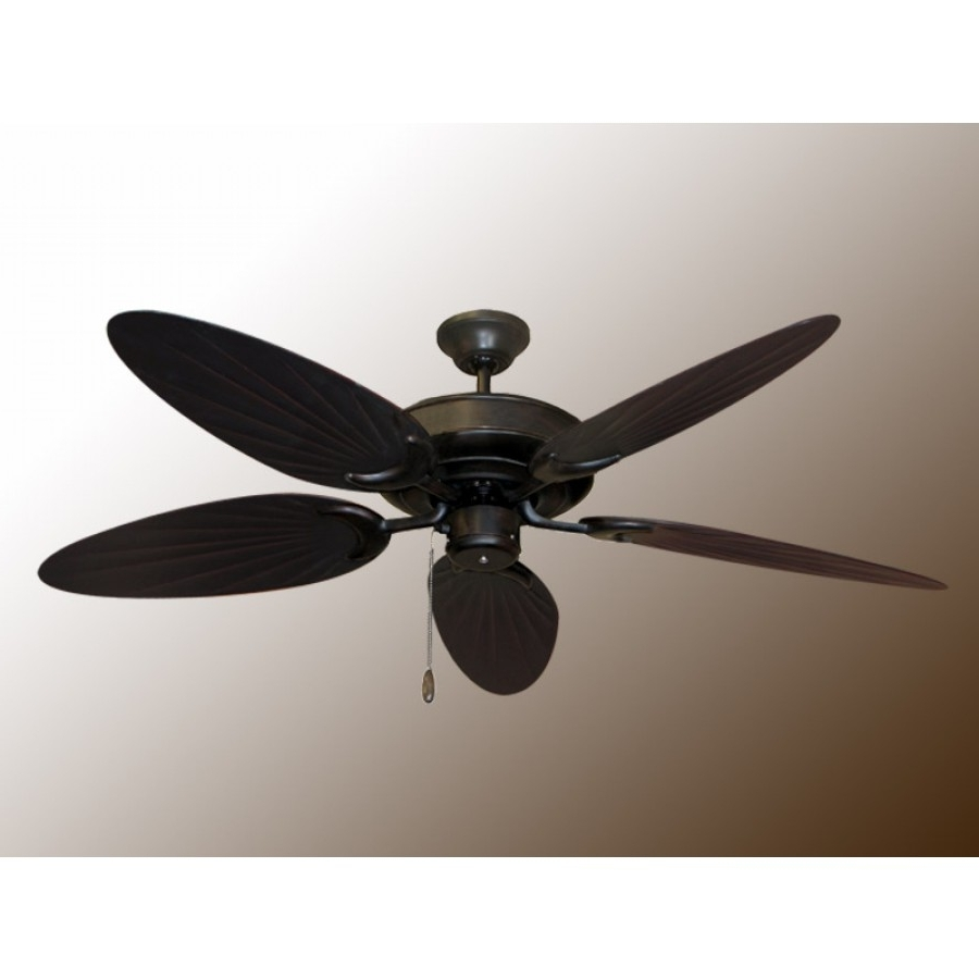 Well Known Bamboo Outdoor Ceiling Fans In Bamboo Raindance, Outdoor Ceiling Fan (View 2 of 20)