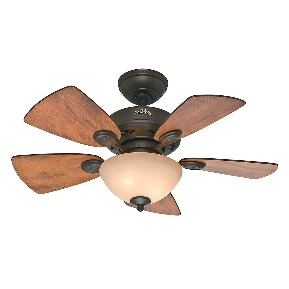 Well Known Brown Outdoor Ceiling Fan With Light Pertaining To Ceiling: Outstanding Small Outdoor Ceiling Fans Home Depot Outdoor (View 15 of 20)