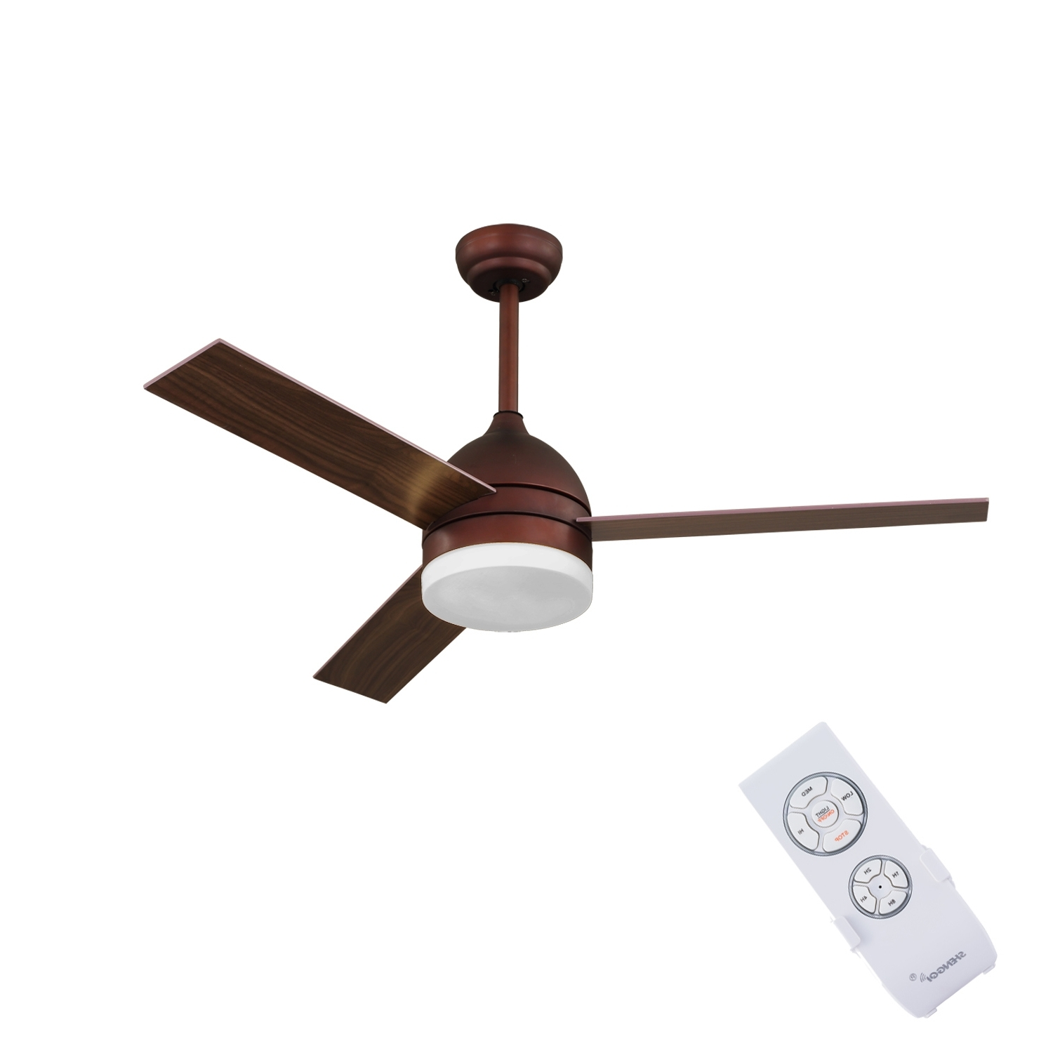 Well Known China 42 Inch Ceiling Fan With Light And Remote Control – China Within Outdoor Ceiling Fans Under $ (View 19 of 20)