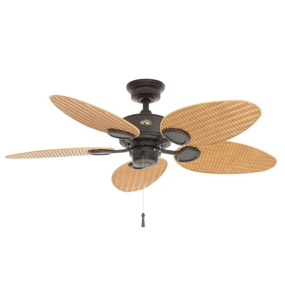 Well Known Hampton Bay Outdoor Ceiling Fans With Lights Within Hampton Bay Ceiling Fans : Fan Parts Accessories The, Hampton Bay (View 19 of 20)