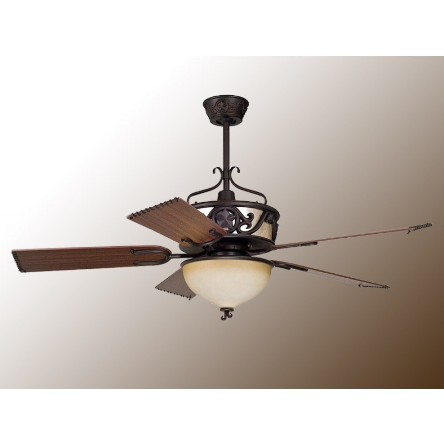 Well Known Lone Starellington – Rustic Ceiling Fan W/light Kit Intended For Ellington Outdoor Ceiling Fans (View 20 of 20)
