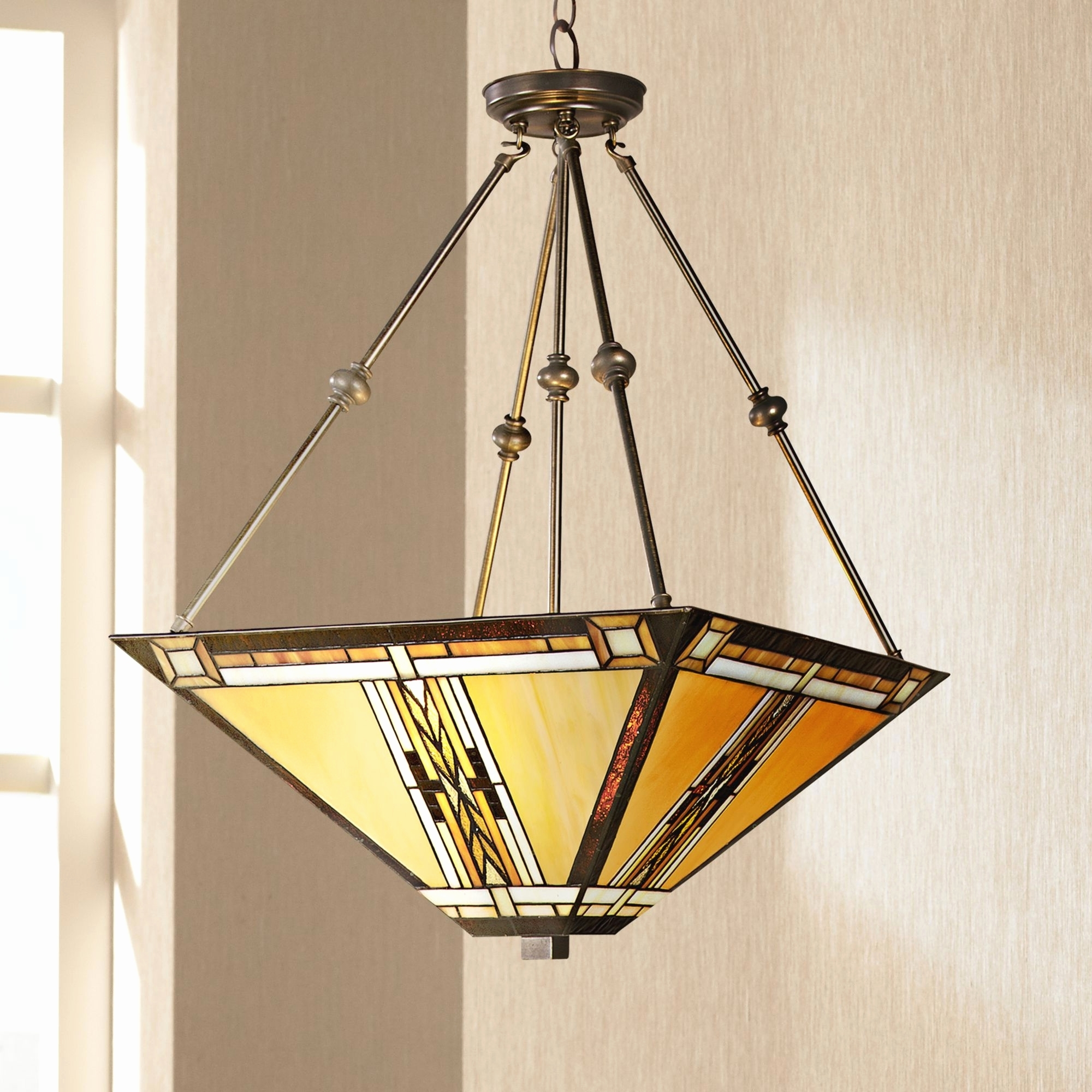 Well Known Mission Style Outdoor Ceiling Fans With Lights Pertaining To Mission Style Ceiling Lights Fans With Mini Pendant Outdoor Flush (View 18 of 20)