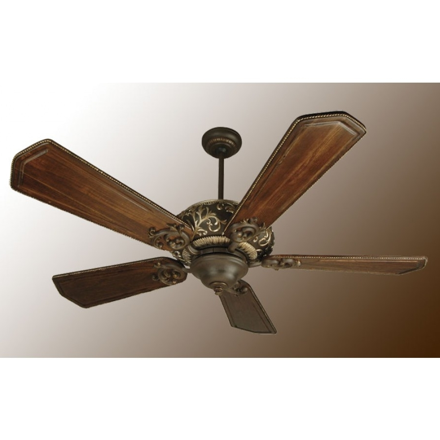Well Known Ophelia Ceiling Fan, Craftmade Ceiling Fan With Victorian Outdoor Ceiling Fans (View 16 of 20)