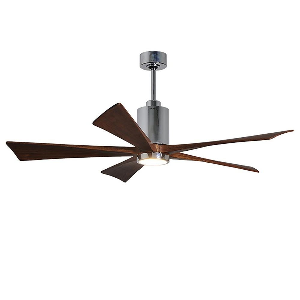 Well Known Outdoor Ceiling Fan With Brake Throughout Wet Rated – Ceiling Fans – Lighting – The Home Depot (View 19 of 20)