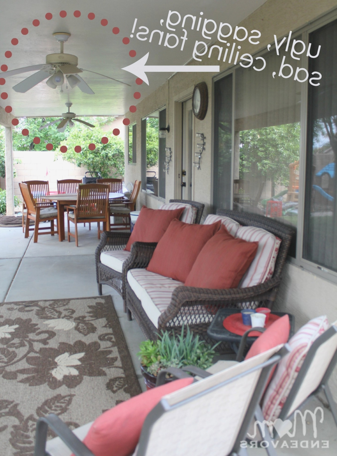 Displaying Photos Of Outdoor Patio Ceiling Fans With Lights View 11