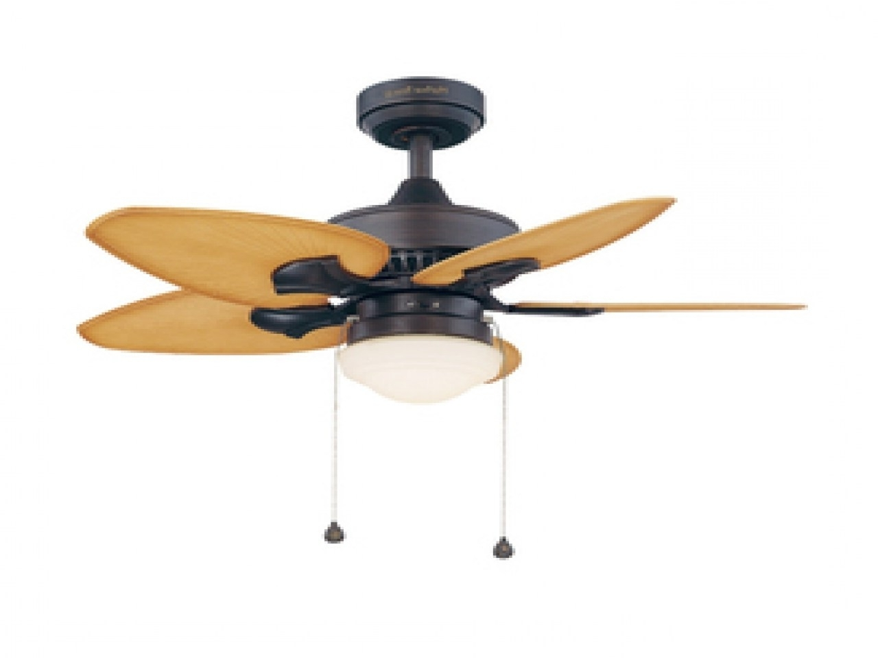 Well Known Pretentious Size Tropical Ceiling Fans Harbor Breeze Outdoor Ceiling Pertaining To Tropical Design Outdoor Ceiling Fans (View 20 of 20)