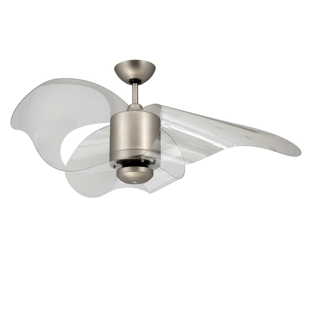Well Known Unique Outdoor Ceiling Fans Inside Troposair La Ceiling Fan With Modern Wave Shaped Blades (View 18 of 20)