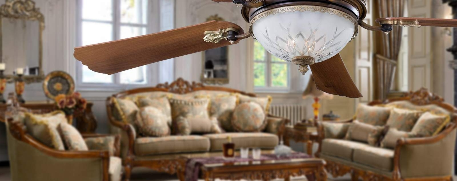 Well Known Victorian Style Outdoor Ceiling Fans Throughout Fancy Victorian Style Ceiling Fans (View 15 of 20)