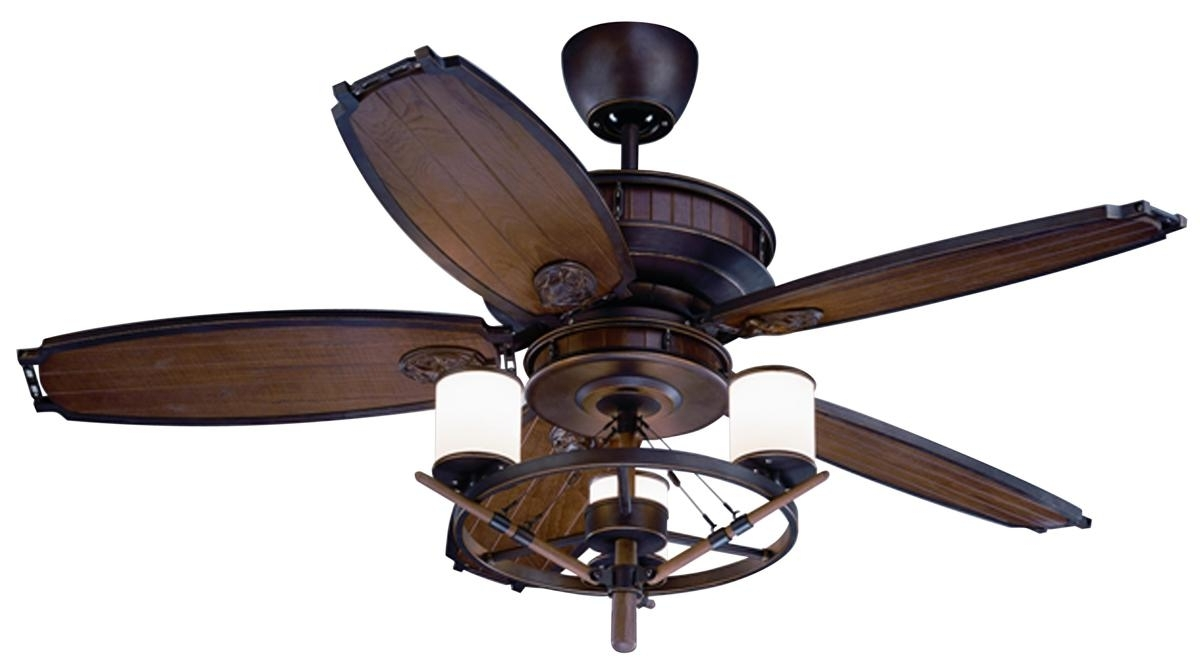 Well Liked Coastal Outdoor Ceiling Fans For Nautical Ceiling Fans – Design For Comfort (View 7 of 20)