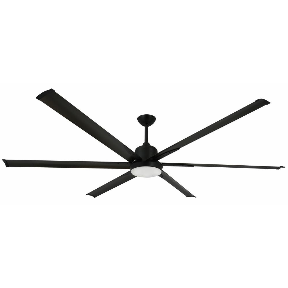 Well Liked Damp Rated Outdoor Ceiling Fans With Troposair Titan 84 In (View 17 of 20)