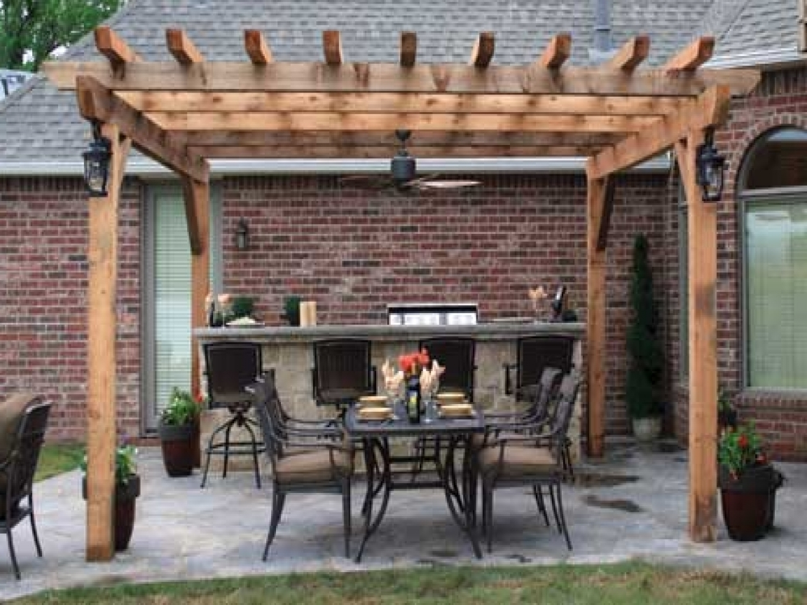 Well Liked Outdoor Patio Hanging Lights, Outdoor Pergola Ceiling Fan Idea  For Outdoor Ceiling Fans - Image Gallery Of Outdoor Ceiling Fans For Pergola (View 12 Of 20 Photos)