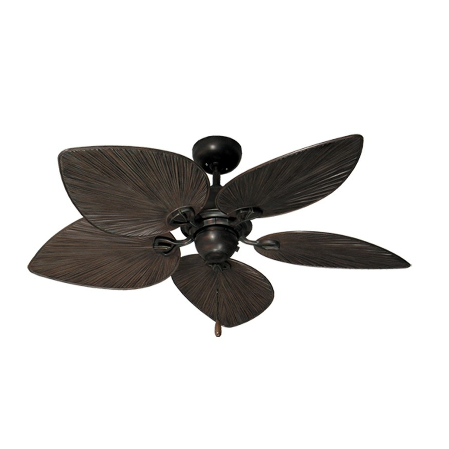 Widely Used 42 Inch Outdoor Ceiling Fans With Lights In 42 Inch Tropical Ceiling Fan – Small Oil Rubbed Bronze Bombay (View 19 of 20)